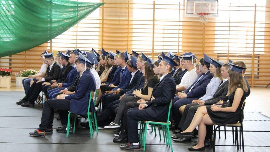Uroczystość zakończenia roku szkolnego 2017/2018