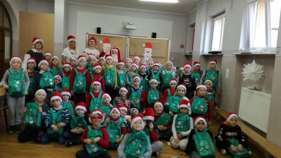 Spotkanie z Mikołajem w SP4