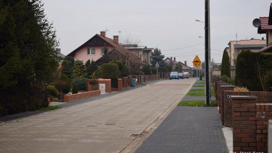 Odbiór 4 ulic na Parcelkach