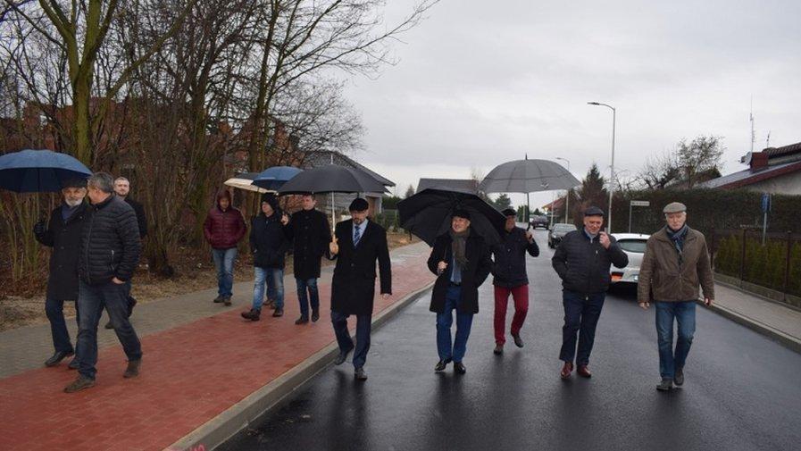Odbiór ulicy Tyczyńskiego w Krotoszynie