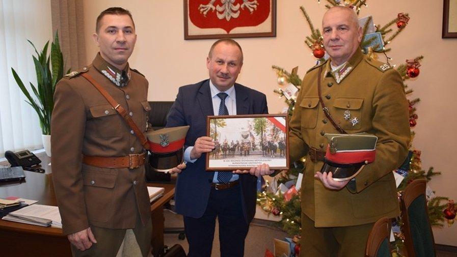 Rodzina Ułańska u burmistrza