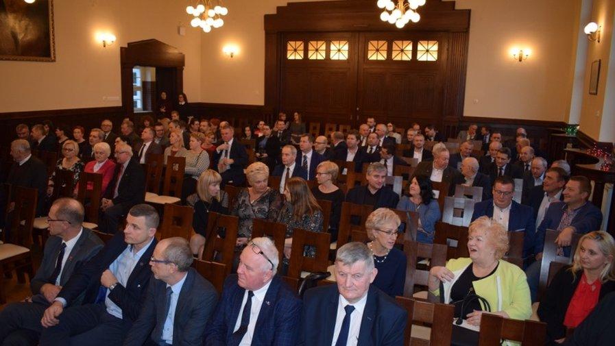 Spotkanie Noworoczne burmistrza z przedsiębiorcami