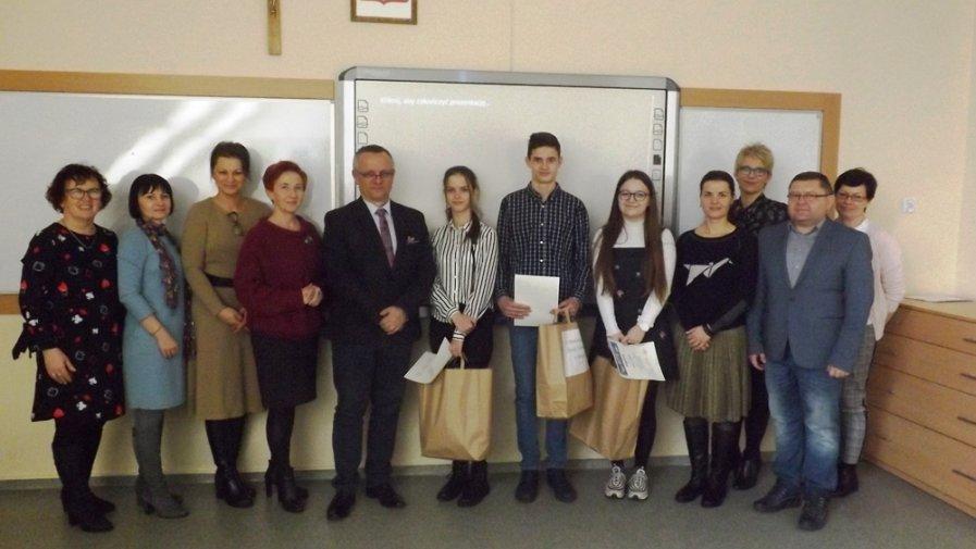 XIV Powiatowy Konkurs Języka Niemieckiego w Benicach
