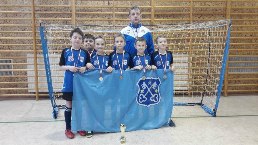 Turniej piłki nożnej w kategorii żak (rocznik 2011) w Liskowie