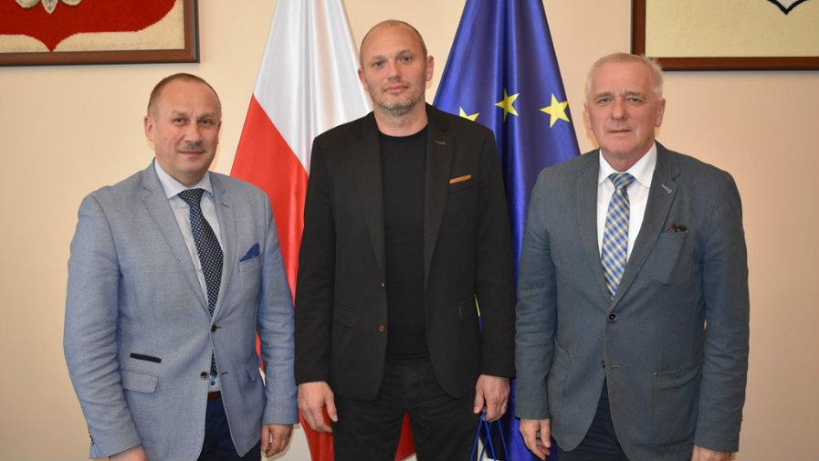 Burmistrz podziękował dotychczasowemu prezesowi krotoszyńskiego klubu spotrowego Astra