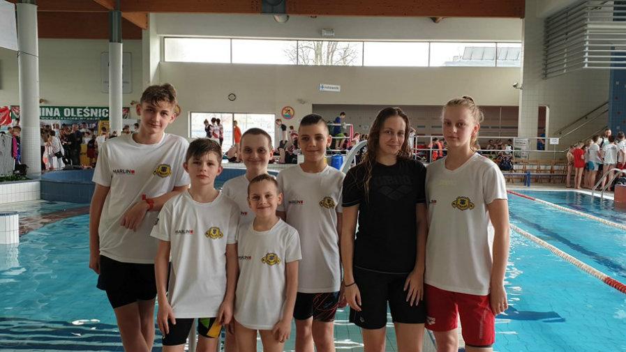 Pływacy KS Krotosz w Oleśnicy