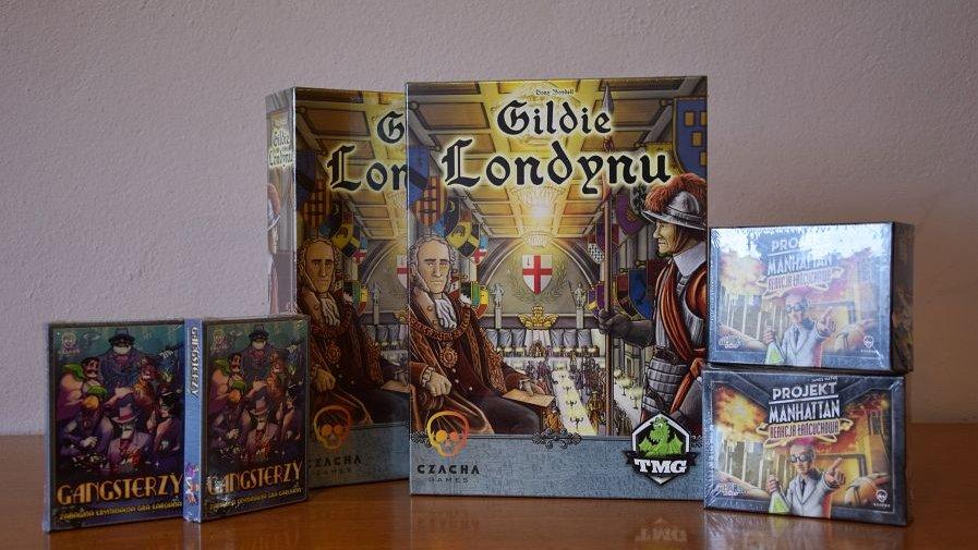 Wydawnictwo Czacha Games wsparło Planszową Bibliotekę