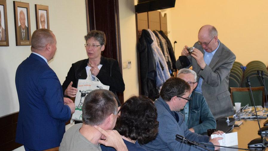 Wizyta byłych mieszkańców powiatu krotoszyńskiego z Niemiec