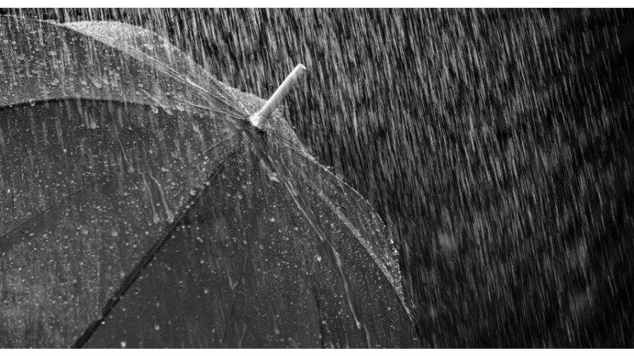 Ostrzeżenie o intensywnych opadach deszczu z burzami