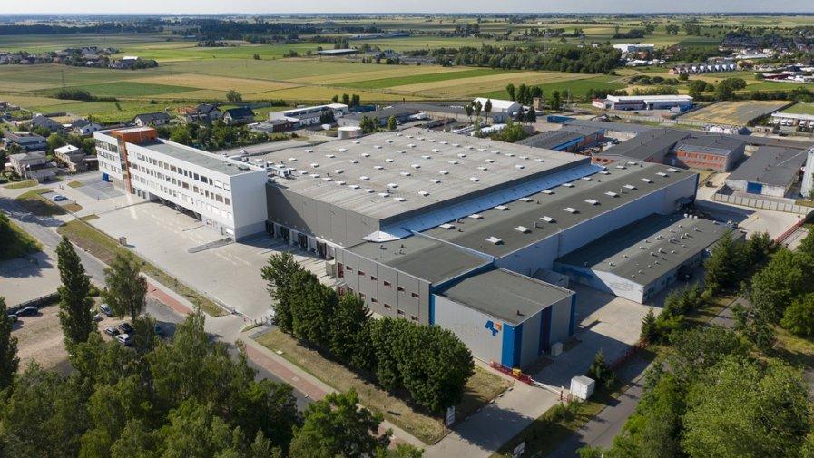 uroczyste otwarcie Zintegrowanego Centrum Logistycznego Przedsiębiorstwa Handlowego A-T S.A.
