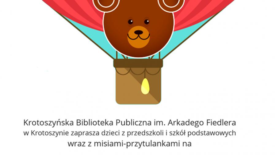 27.11 - 29.11 Światowy Dzień Pluszowego Misia w Krotoszyńskiej Bibliotece Publicznej