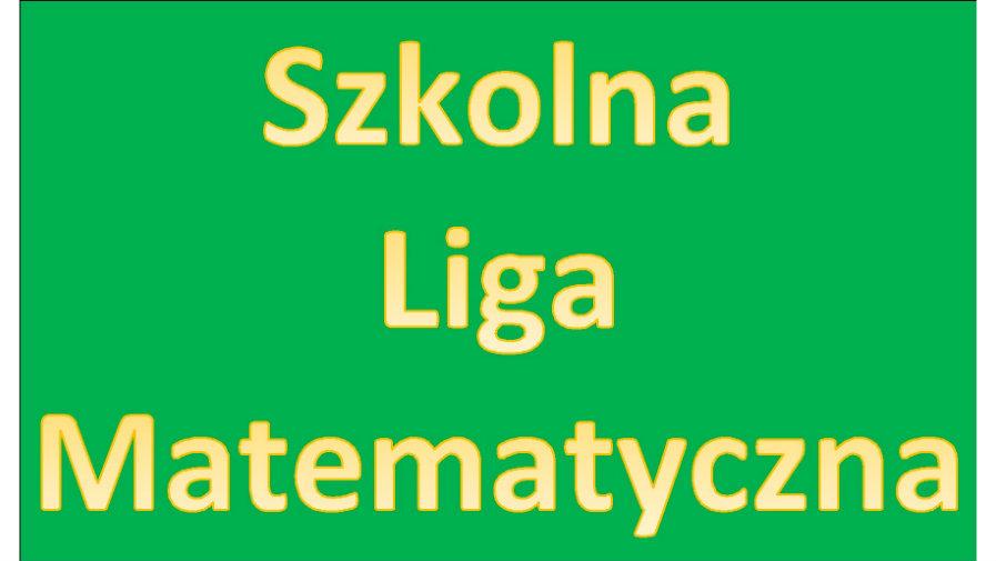 Szkolna Liga Matematyczna 2019/2020