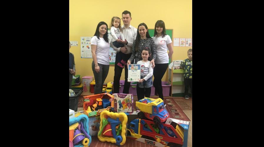 Sukces wychowanki Przedszkola nr 6 z Oddziałami Integracyjnymi w Krotoszynie