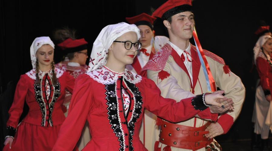 Fotorelacja z występu Zespołu Tańca Ludowego Krotoszanie - 03.2020